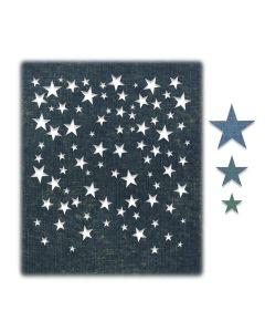 Falling Stars Thinlits Dies - Tim Holtz - Sizzix*