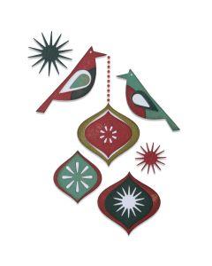 Ornamental Birds Thinlits Dies - Tim Holtz - Sizzix