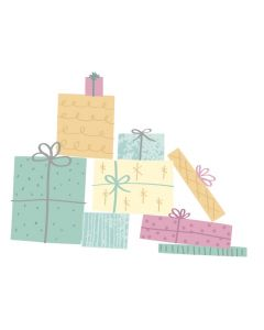 Gift Wrap Layered Clear Stamps - Olivia Rose - Sizzix