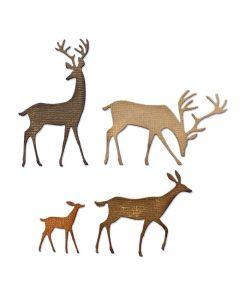 Darling Deer Thinlits Dies - Tim Holtz - Sizzix*