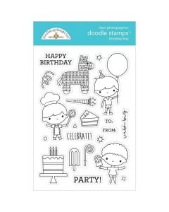Birthday Boy Doodle Stamps - Party Time - Doodlebug*