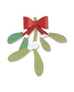 Mistletoe Leaves Thinlits Dies - Let It Bloom - Olivia Rose - Sizzix