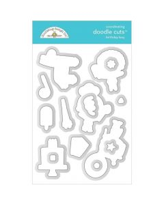 Birthday Boy Doodle Cuts - Party Time - Doodlebug*