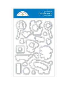 Party Animals Boy Doodle Stamps - Party Time - Doodlebug*