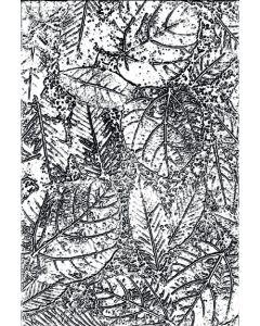 Foliage 3-D Texture Fades Embossing Folder - Tim Holtz - Sizzix
