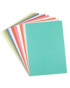 "Botanical Colors 8"" x 11"" Cardstock Pack - Surfacez - Sizzix"