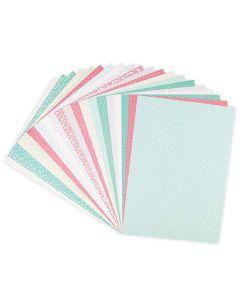 "Botanical Patterned 8"" x 11"" Paper Pack - Surfacez - Sizzix"