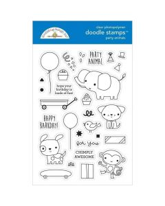 Party Animals Boy Doodle Cuts - Party Time - Doodlebug*