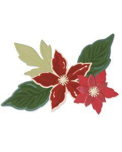 Seasonal Flowers Framelits Dies w/ Stamps - Lisa Jones - Sizzix