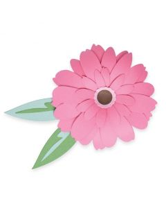 Gerbera Flower Thinlits Dies - Olivia Rose - Sizzix