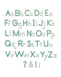 Essential Type Thinlits Dies - Lisa Jones - Sizzix
