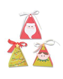 Christmas Character Box Thinlits Dies - Kath Breen - Sizzix