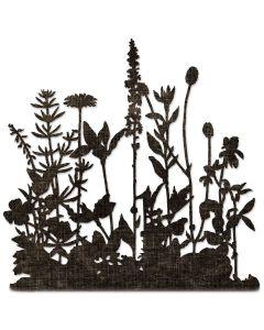 Flower Field Thinlits Die - Let It Bloom - Tim Holtz - Sizzix