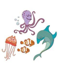 Under the Sea #1 Colorize Thinlits Dies - Tim Holtz - Sizzix