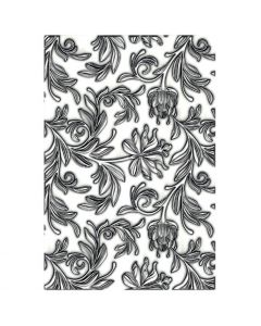 Mini Botanical 3-D Texture Fades Embossing Folder - Tim Holtz - Sizzix