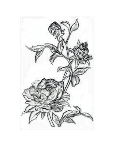Mini Roses 3-D Texture Fades Embossing Folder - Tim Holtz - Sizzix 3-D Texture Fades Embossing Folder
