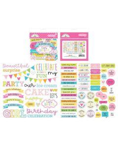 Hey Cupcake Chit Chat - Doodlebug*