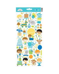 Party Time Icons Stickers - Doodlebug*