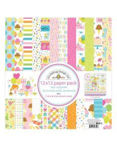 "Hey Cupcake 12"" x 12"" Paper Pad - Doodlebug*"