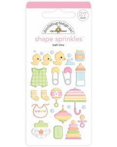 Bath Time Shape Sprinkles - Bundle of Joy - Doodlebug