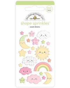 Sweet Dreams Shape Sprinkles - Bundle of Joy - Doodlebug