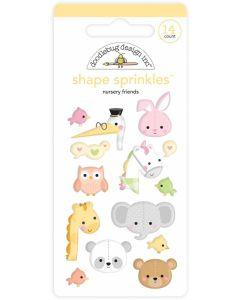 Nursery Friends Shape Sprinkles - Bundle of Joy - Doodlebug