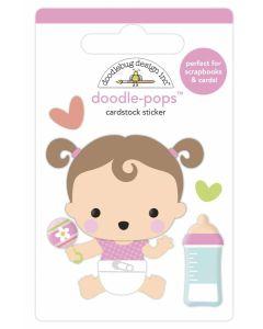 Sweet Girl Doodle-Pops - Bundle of Joy - Doodlebug