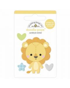 Lovable Lion Doodle-Pops - Special Delivery - Doodlebug