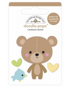 Bear Hug Doodle-Pops - Special Delivery - Doodlebug