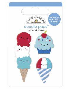 Summer Sweets Doodle-Pops - Land That I Love - Doodlebug