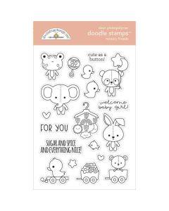 Nursery Friends Doodle Stamps - Bundle of Joy - Doodlebug