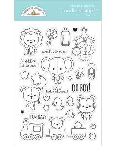 Toy Box Doodle Stamps - Special Delivery - Doodlebug