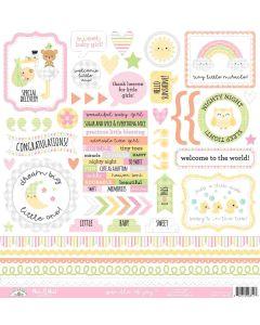 Bundle of Joy This & That Stickers - Doodlebug