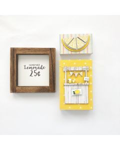 August Kit - Tiered Tray Decor - Foundations Decor