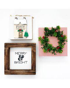 December Kit - Tray Decor - Foundations Decor*