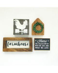Farmhouse Kit - Tiered Tray Decor - Foundations Decor