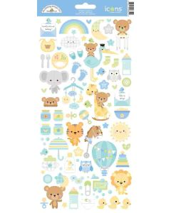 Special Delivery Icons Stickers - Doodlebug