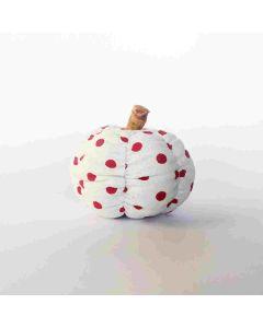Orange Spice Polka Dot Pumpkin - Tiered Tray Decor - Foundations Decor