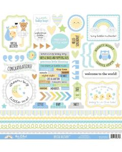 Special Delivery This & That Stickers - Doodlebug
