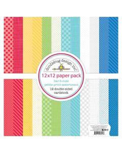 "Bar-B-Cute 12"" x 12"" Paper Pack - Doodlebug"
