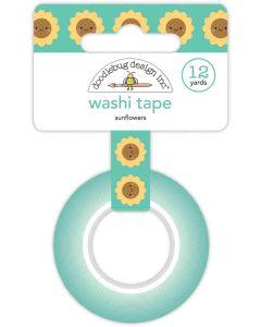 Sunflowers Washi Tape - Pumpkin Spice - Doodlebug*