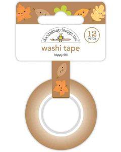 Happy Fall Washi Tape - Pumpkin Spice - Doodlebug*