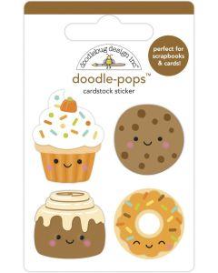 Fall Treats Doodle-Pops - Pumpkin Spice - Doodlebug*