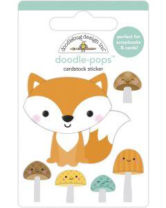 Fox and Friends Doodle-Pops - Pumpkin Spice - Doodlebug*