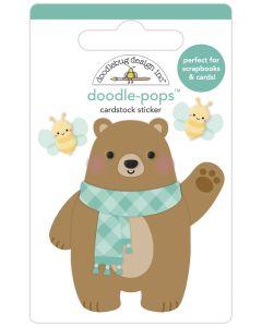Beary Cute Doodle-Pops - Pumpkin Spice - Doodlebug*