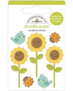 Sunflowers Doodle-Pops - Pumpkin Spice - Doodlebug*