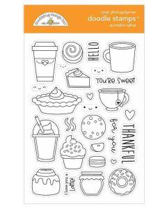 Pumpkin Spice Doodle Stamps - Doodlebug*