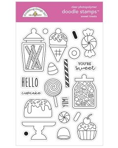 Sweet Treats Doodle Stamps - Ghost Town - Doodlebug*