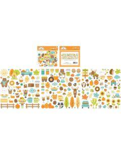 Pumpkin Spice Odds & Ends - Doodlebug*