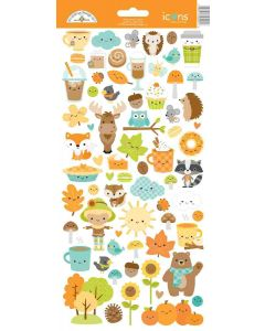 Pumpkin Spice Icons Stickers - Doodlebug*
